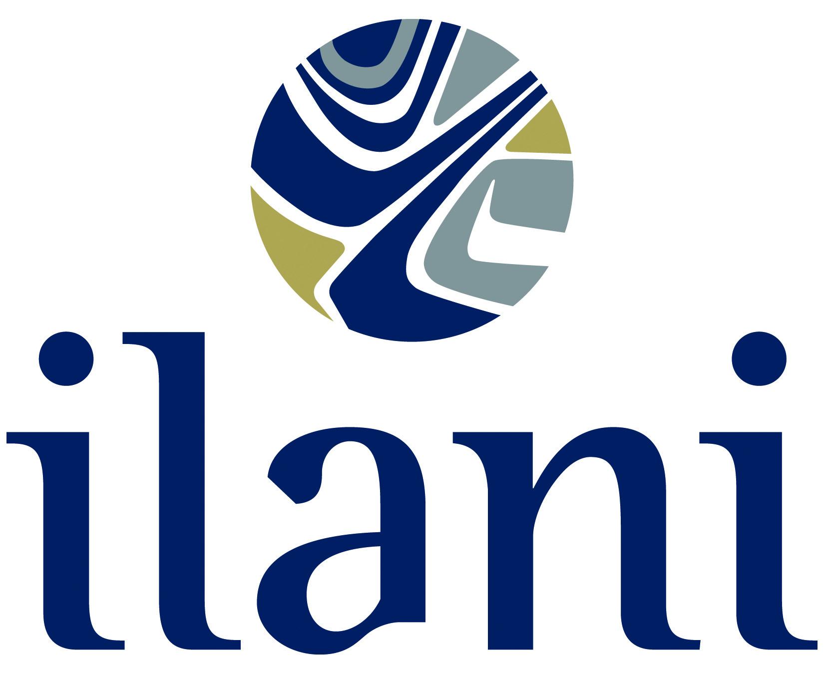 ilani white logo